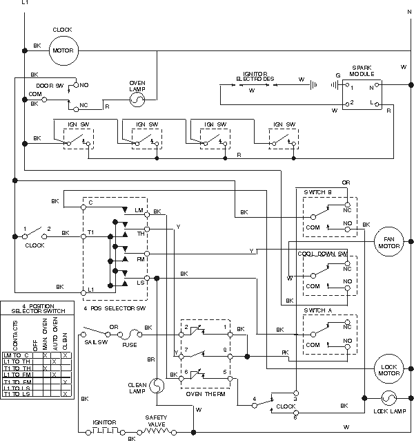 kenmore fridge schematic