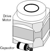 Washing Machine's Piggyback Capacitor
