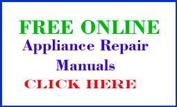 Appliance Repair Manuals