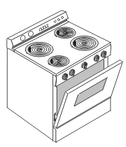 Stove or Range repair manual
