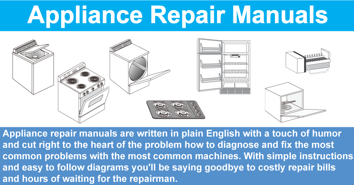 Appliance repair diy appliance service maintenance solutioingenieria Image collections