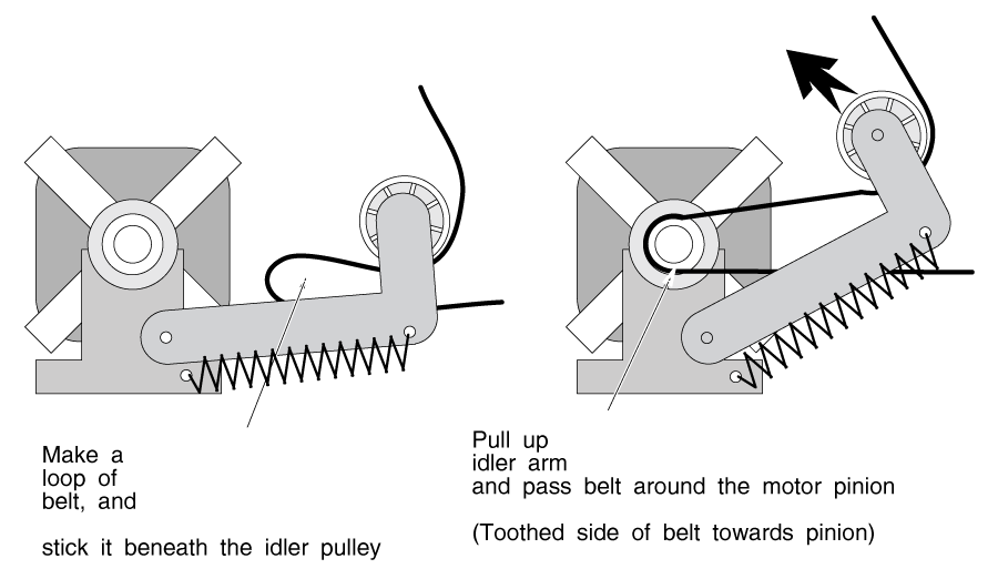 Clothes Dryer Belt Installation
