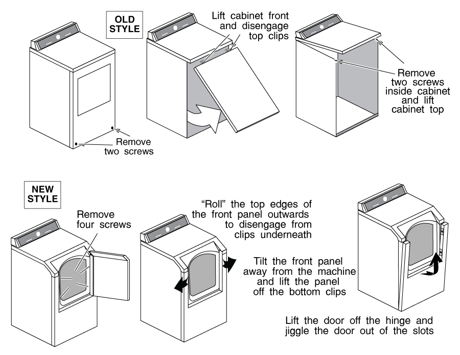 maytag dryer diagram
